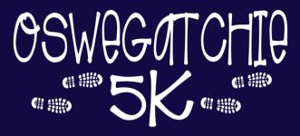 Oswegatchie 5K registration logo