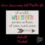 Our Journey Of Faith 5k Walk/Run registration logo