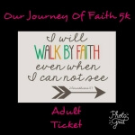 Our Journey Of Faith 5k Walk/Run registration logo
