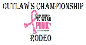 Outlaw's Championship Rodeo registration logo