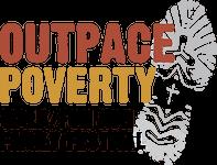 Outpace Poverty Walk/Run registration logo
