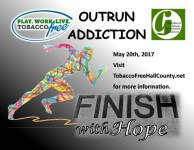 Outrun Addiction registration logo