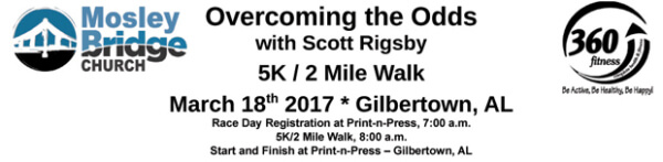 Overcoming The Odds with Scott Rigsby registration logo