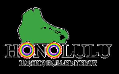 Pacific Roller Derby 5K registration logo