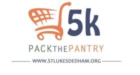 Pack the Pantry 5K - Dedham registration logo