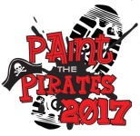 Paint the Pirates 5K and 1 Mile registration logo