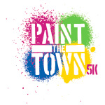 Paint the Town 5k registration logo