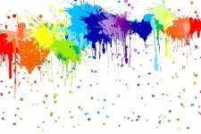 Paint the Town Color Explosion 5k Fun Run/Walk registration logo