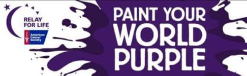 Paint Your World Purple Color Run 5K registration logo