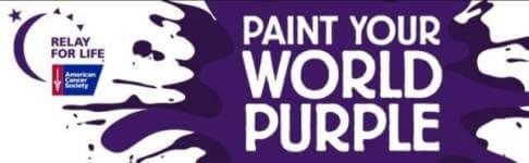 Paint Your World Purple Color Run 5K registration logo