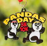 Pandas Day 5K & 10K registration logo