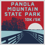 Panola Mountain State Park 10k/5k registration logo