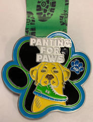 Panting for Paws registration logo
