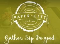 Paper City Coffee 5K Walk/Run registration logo