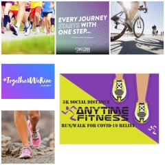 Paragould Virtual Community Race for a Cause - Biking registration logo