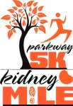 Parkway 5K and Kidney Mile registration logo