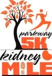 Parkway 5K and Kidney Mile registration logo