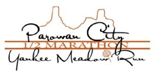 Parowan City Half Marathon Yankee Meadow Run registration logo