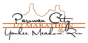 Parowan City Half Marathon Yankee Meadow Run registration logo