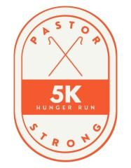 Pastor Strong 5k Hunger Run registration logo