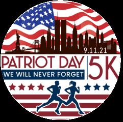 Patriot Day 5K registration logo