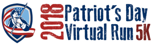 Patriot's Day Virtual Run registration logo