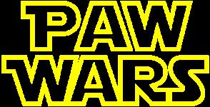 Paw Wars 5k/1k Fun Run registration logo