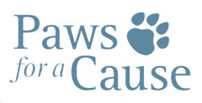 Paws for a Cause registration logo