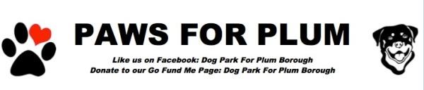 Paws for Plum 1 Mile Dog Walk  registration logo