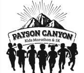 Payson Canyon 5k and Kids Marathon  registration logo