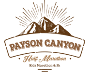 Payson Canyon Half, 5k and Kids Marathon  registration logo