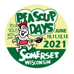 Pea Soup Days 5K 2021 registration logo