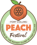 Peach Fest 5k Packet Pickup registration logo