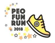 P.E.O CHAPTER V 5K AND FUN RUN registration logo