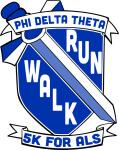 Phi Delta Theta 5K Run/Walk registration logo