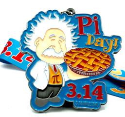 Pi Day 3.14 registration logo