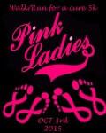 Pink Ladies 5k Run/Walk registration logo