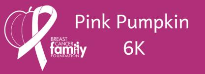 Pink Pumpkin 6K Walk/Run - Wisconsin Rapids registration logo