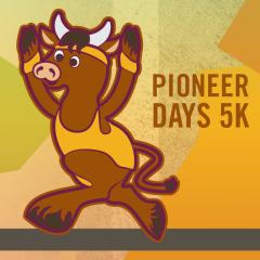 Pioneer Days 5K registration logo
