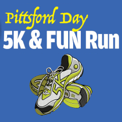 Pittsford Day 5K & 1 Mile Run registration logo