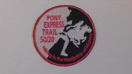 Pony Express Trail Run / Hike 50/20 50 Miles within 20 Hours registration logo