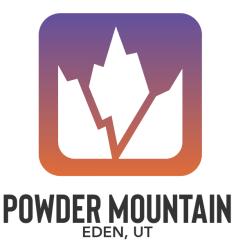 Powder Mountain registration logo