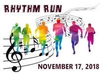 PQ Rhythm Run registration logo