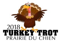 Prairie du Chien Turkey Trot registration logo
