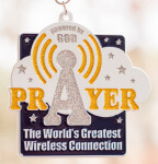 PRAYER - The World's Greatest Wireless Connection 1 Mile, 5K, 10K, 13.1, 26.2 registration logo