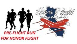 Pre-Flight Run for Honor Flight registration logo