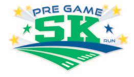 Pre-Game 5K registration logo
