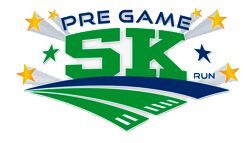 Virtual Pregame 5K registration logo