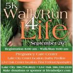 Pregnancy Care Center Walk 4 Life Lake City, FL registration logo