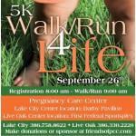 Pregnancy Care Center Walk 4 Life Lake City, FL registration logo